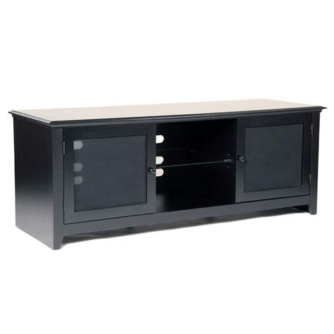 65 inch tv cabinet transdeco wood and glass tv cabinet for up to 65 in flat