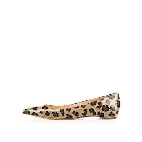 comfortable leopard flats comfortable patent leather leopard print flats pointy toe