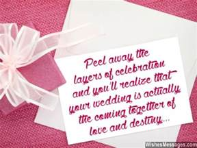 message for wedding card wedding card quotes and wishes congratulations messages