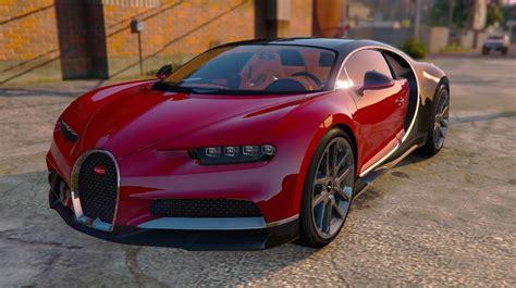 Schnellstes Auto Gta 5 2016 by 2017 Bugatti Chiron Add On Replace Auto Spoiler Hq
