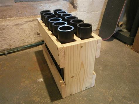how to build a 12 mortar rack