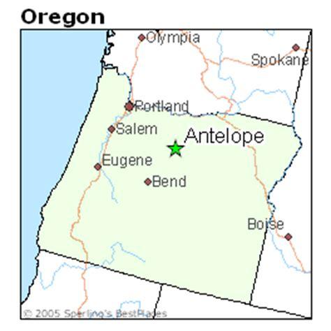places    antelope oregon