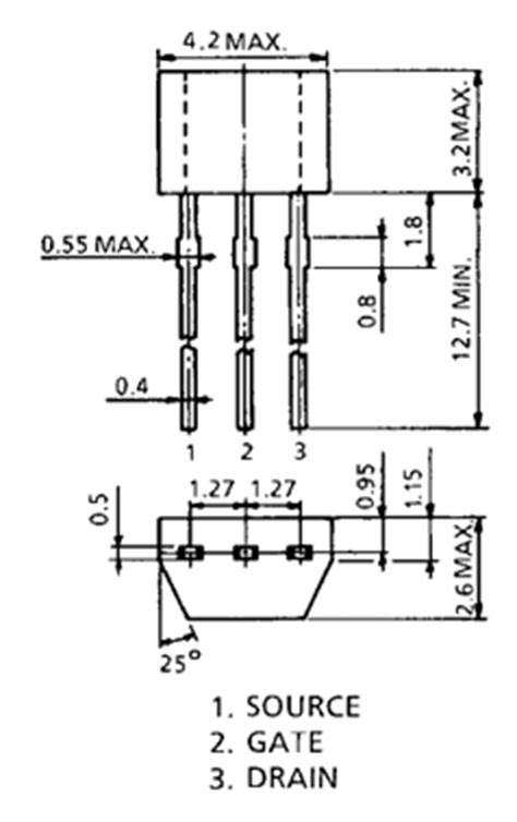 transistor k5a50d datasheet transistor k5a50d datasheet 17 images k5a50d datasheet nch mosfet vdss 500v toshiba tip31c