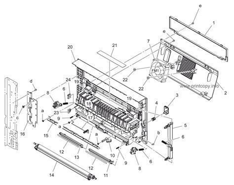 code section 195 parts catalog gt konica minolta gt bizhub 195 gt page 11