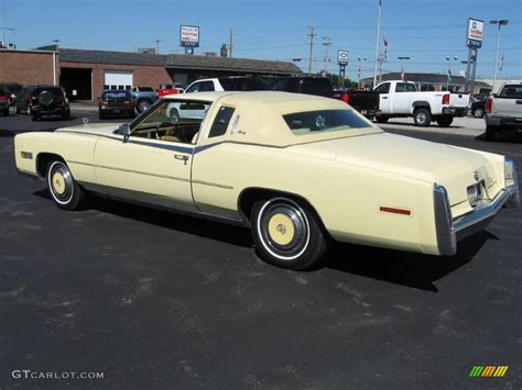 1978 colonial yellow cadillac eldorado biarritz 17408721 photo 3 gtcarlot car color