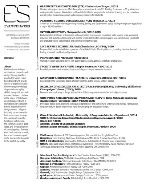 Best References For Resume by Gallery Of The Top Architecture R 233 Sum 233 Cv Designs 11