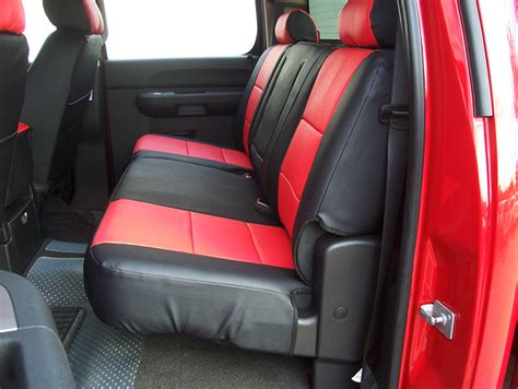 silverado seat covers leather chevy silverado 2007 2012 iggee s leather custom seat