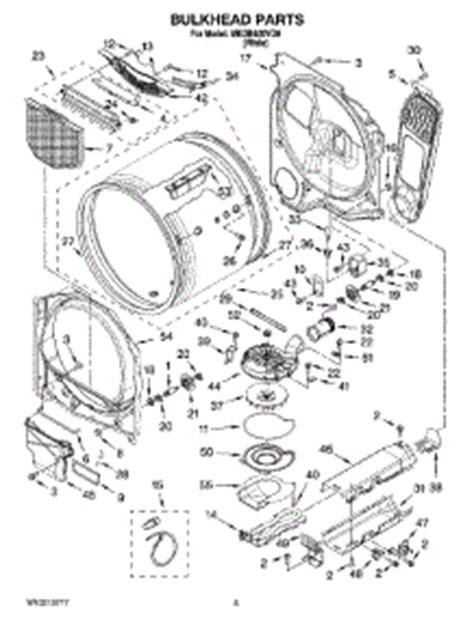 maytag bravos dryer parts diagram maytag repair maytag repair kit dryer parts