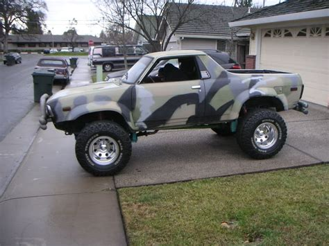 brat car lifted camo lifted subaru brat
