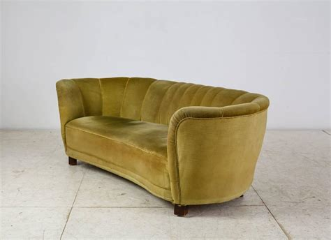 velor sofa three seat sofa with green velour upholstery denmark
