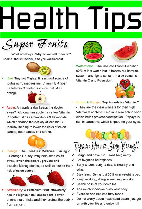 womens health diet and fitness medicine health advice 20 best health tips to stay fit forever