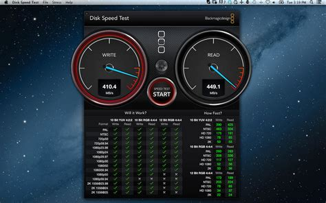 disk speed test blackmagic disk speed test on the mac app store