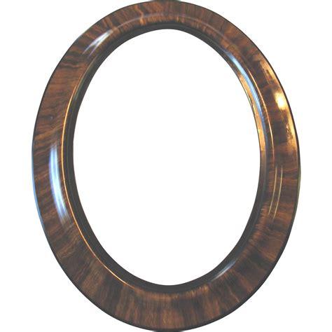 transparent oval frames large antique oval wood frame tiger stripe convex bubble