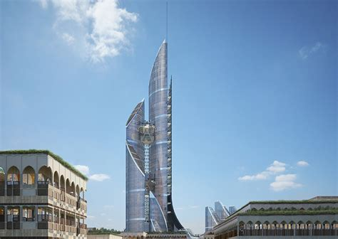 Drawing Ideas Generator ambs architects unveils the bride tower for basra