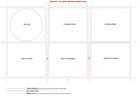foldable cd sleeve template digipak research raybould s media studies