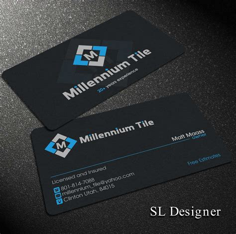 Tile Business Cards inspirational gallery of tile business cards business