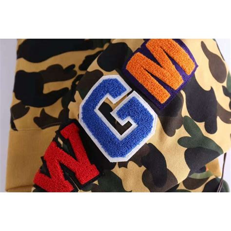 Kaos T Shirt Bape Shark Wgm New new a bathing ape bape wgm camo shark hoodie buy a