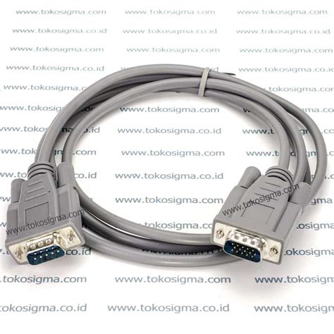 Kabel Vga Db15 Rgb Pin 15 To High Quality kabel db9 to db15 vga toko sigma