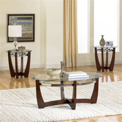 living room table set rounded varnished pine wood side table with curved door