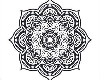 mandala tattoo transfer mandala clipart mandala tattoo design mandala iron on