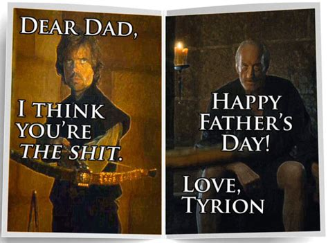Fathers Day Memes - celebrate father s day ironically with game of thrones