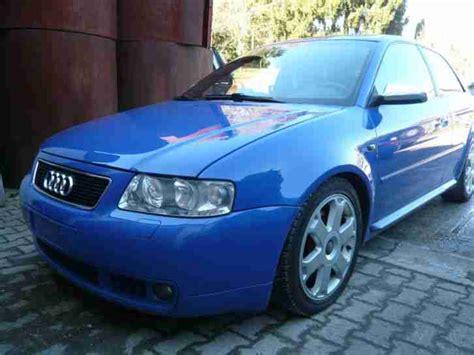 Audi S3 8l Technische Daten by Audi S3 8l Bj01 237000km Servisheft Recaro Tolle