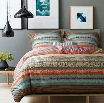 boho king size bedding new 100 cotton ikea casa boho bedding set colorful