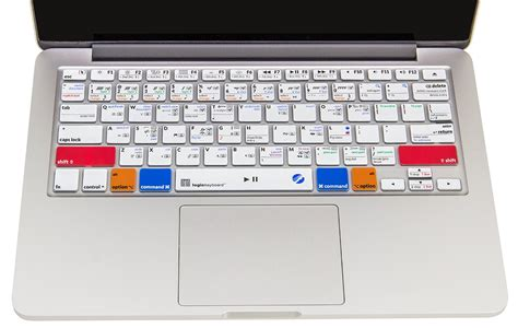 color coded keyboard logicskin makemusic finale apple color coded keyboard cover