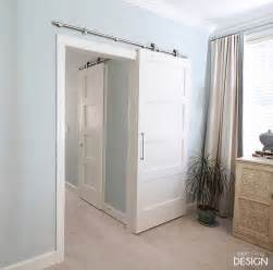 Sliding Barn Door Installation Modern Barn Doors An Easy Solution To Awkward Entries