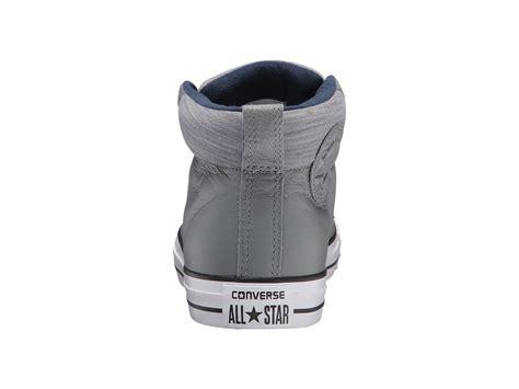Jaket Fleece Jaket Converse Allstar Marun Grey converse chuck 174 all 174 high leather w fleece mid at 6pm