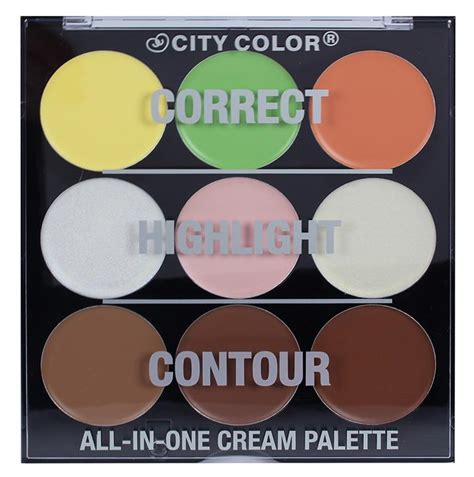 City Color Corrector Wheel Palette city color all in one palette city color cosmetics