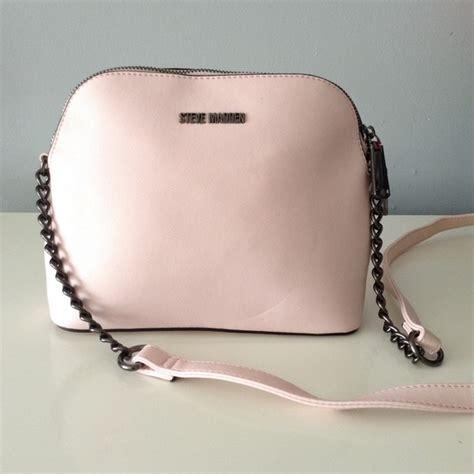 Steve Madden Crossbody Bags For by Steve Madden Bags Light Pink Gunmetal Crossbody Bag Poshmark