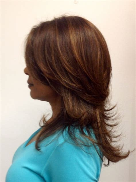 layered highlighted hair styles long hair with short layers hairstyle ideas magazine