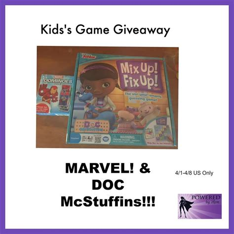 Free Giveaways Games - wonderforge game giveaway win 2 games from marvel doc mcstuffins ends 4 08 15