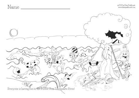 coloring page of a river 9 images of mountain river coloring pages nature