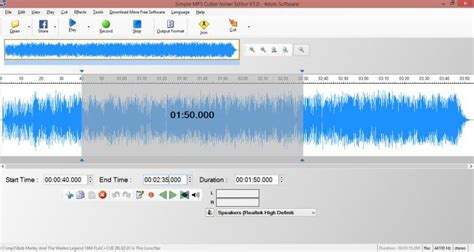 to cut a mp3 download simple mp3 cutter joiner editor v1 0 freeware
