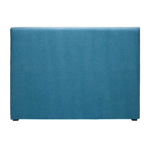 fodera testata letto fodera di testata da letto 160 cm in tessuto cobalto