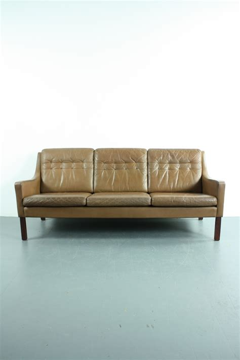 Vintage Brown Leather Sofa Vintage Thams 3 Seater Brown Leather Sofa Lovely And Company