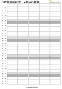 Kalender 2018 Xls Excel Kalender 2018 Kostenlos