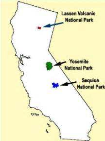 sequoia national park california map effects of agricultural pesticides on translocated