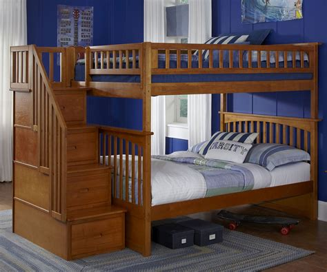 cheap bunk beds with stairs impressive cheap bunk beds with stairs 4 full over full