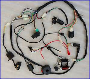 50 70 90 110cc 125cc wire harness wiring cdi assembly atv coolster ebay