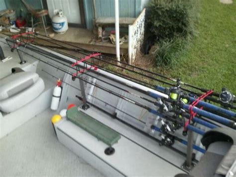 horizontal rod holders for boats need ideas on horizontal rod racks