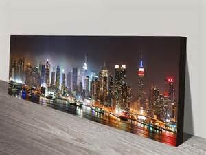 new york skyline canvas wall print on canvas