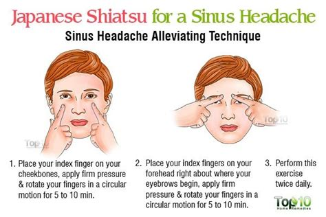 headache every night before bed japanese shiatsu self massage techniques for pain relief and relaxation page 2 of 2