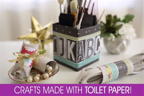 Toilet Paper Craft Ideas - copper creativity diy desk that steals the show