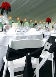 Red Black And White Wedding Black And White Wedding