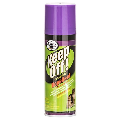 four paws four paws keep off indoor outdoor cat kitten repellent cat repellent