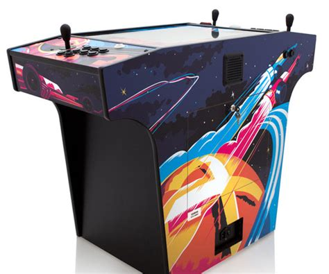 Arcade Cocktail Cabinet by X Arcade Cocktail Cabinet