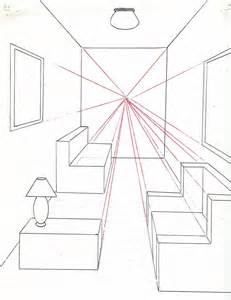 draw a room how to draw a room using one point perspective